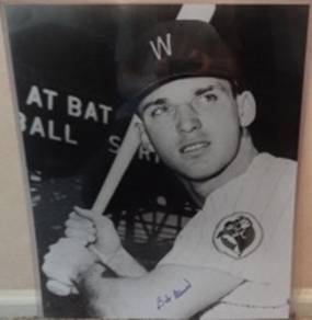 Signed B&W 16x20 Bob Allison Washington Senators